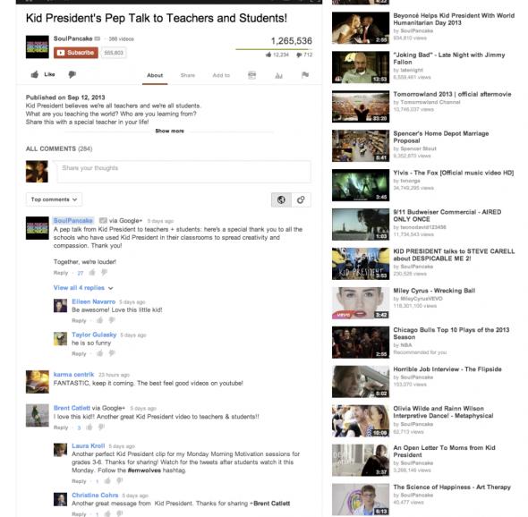 YouTube Yorumlar