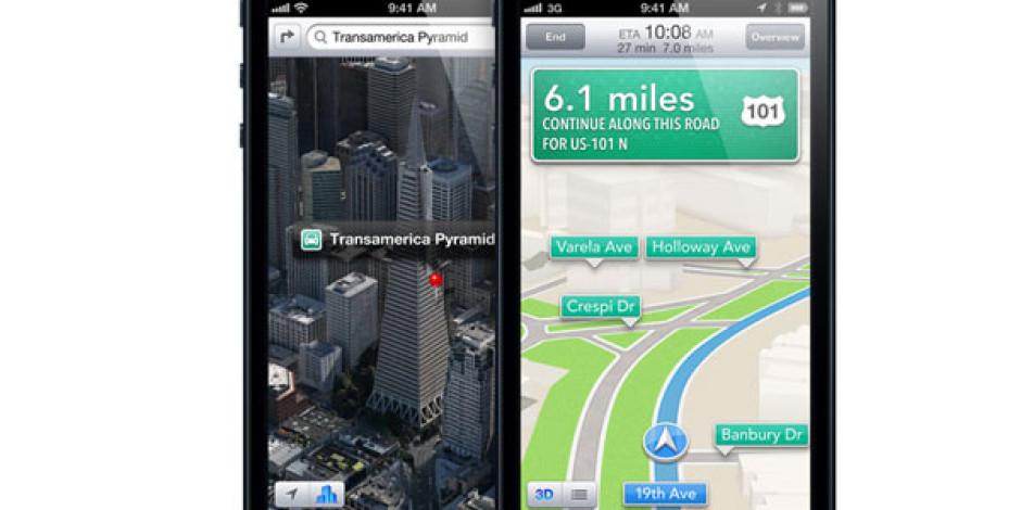 iPhone 5S'in M7 İşlemcisi Apple Maps'te de Kullanılacak