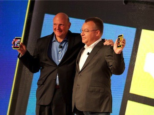 Steve Ballmer ve Stephen Elop
