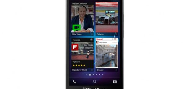BlackBerry 5 İnçlik Yeni Phablet Akıllı Telefonu Z30'u Tanıttı