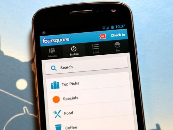 Foursquare Arama Sonuçlarına Restoran Menülerini de Dahil Etti