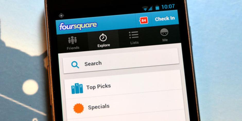 Foursquare Restoran Menülerini Arama Sonuçlarına Dahil Etti