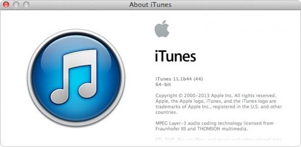 iTunes 11.1