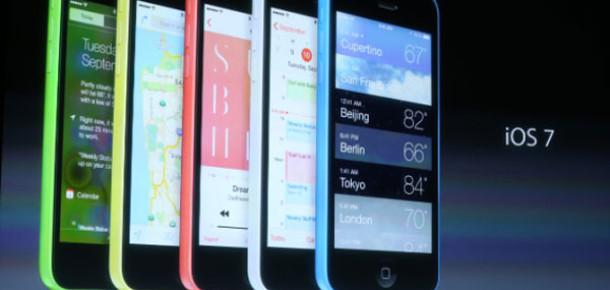Apple, Ekonomik Akıllı Telefonu iPhone 5C'yi Tanıttı