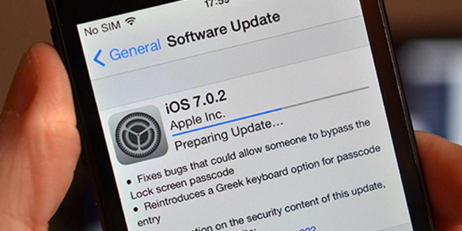 Apple, Güvenlik Açıklarını Düzelten iOS 7.0.2 Güncellemesini Yayınladı