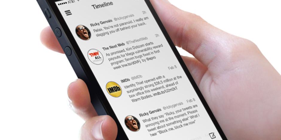 Twitter, iOS 7 İle Birlikte Bambaşka Bir Görünüme Kavuşacak