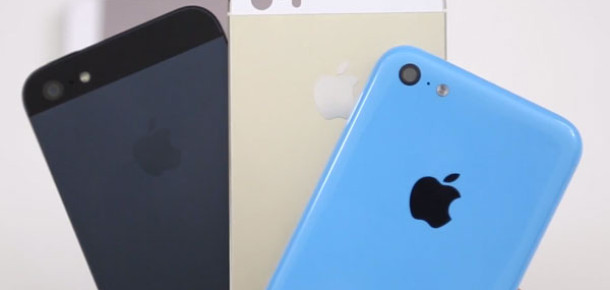 Apple, Üç Günde 9 Milyon iPhone 5S ve iPhone 5C Satıldığını Açıkladı