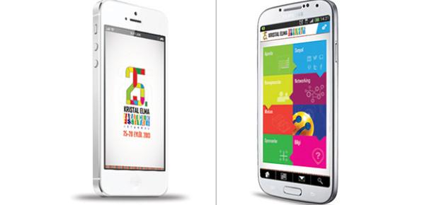 25. Kristal Elma Yaratıcılık Festivali'nin iOS ve Android Uygulamaları Yayında!