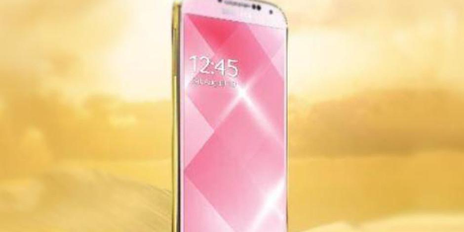 Samsung'dan iPhone 5S'e Altın Renkli Rakip: Galaxy S4 Gold Edition