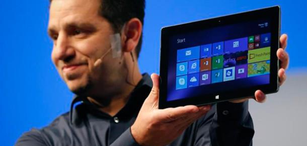 Microsoft'un Yeni Tabletleri Surface 2 ve Surface Pro 2 Görücüye Çıktı