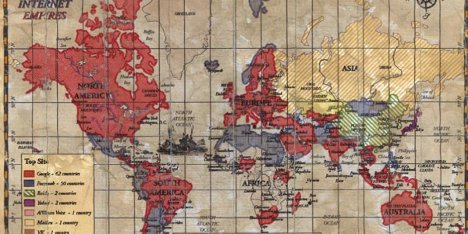 İnternet İmparatorlukları: Ülkelere Göre En Popüler Web Siteleri