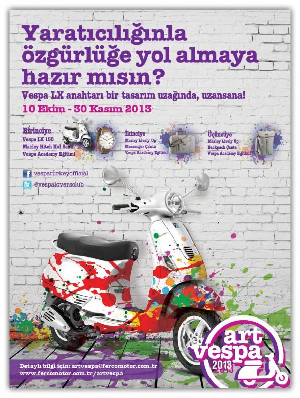 Art Vespa 2013 Afis
