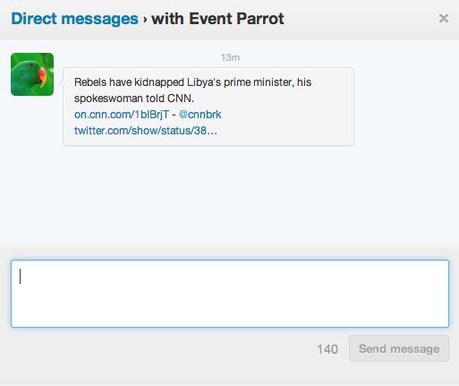 Event Parrot