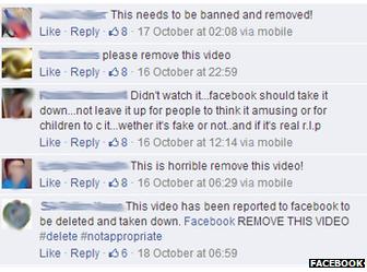 Facebook Şiddet