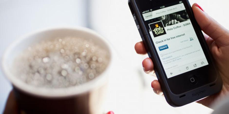 Facebook, Check-in Karşılığında Ücretsiz Wi-Fi Projesini Genişletiyor