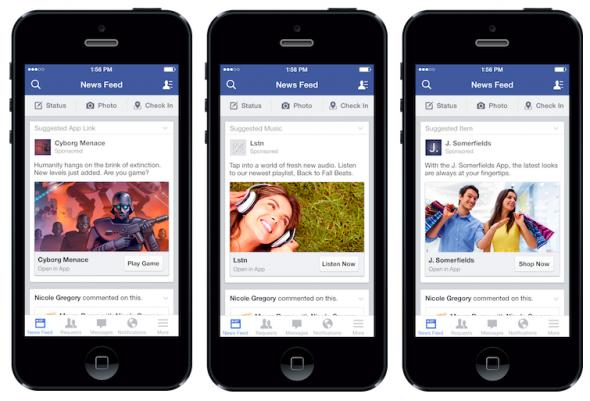 Facebook Mobil Reklamlar