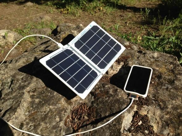 Güneş Enerjisi ile iPhone Şarj Etme