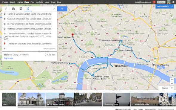 Google Maps Birden Fazla Rota