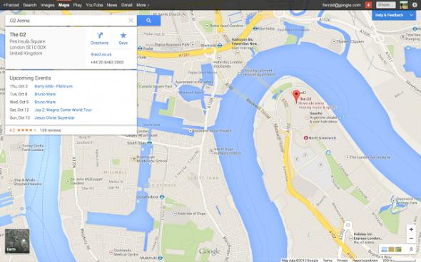 Google Maps Etkinlikler