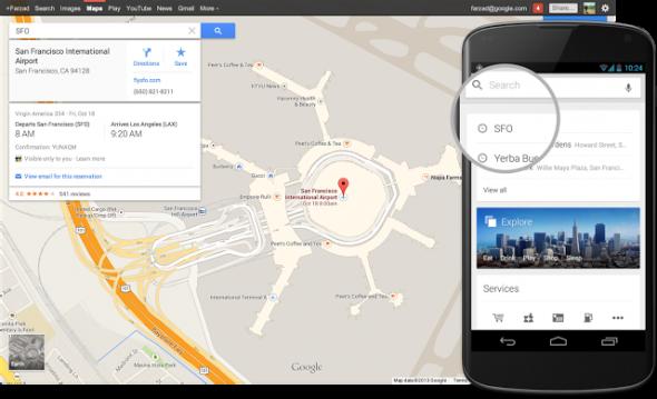 Google Maps Rezervasyon