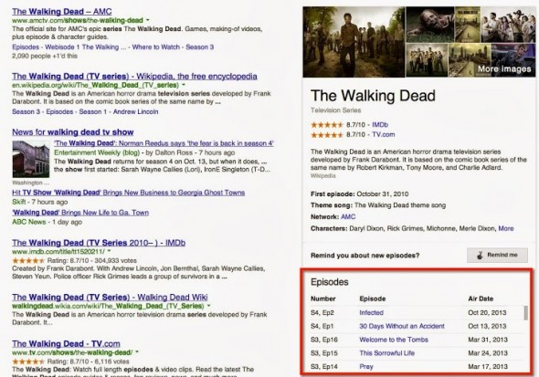 Google Walking Dead
