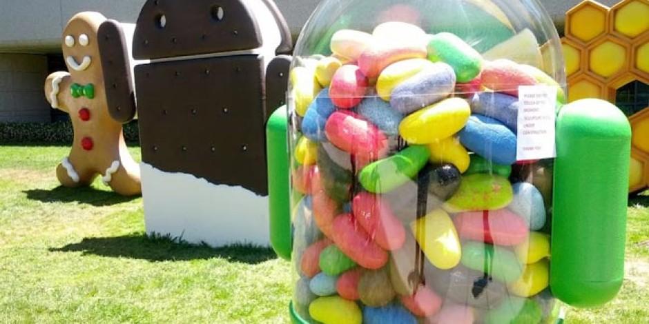 Aktif Android Cihazların Yarısı Jelly Bean İle Çalışıyor
