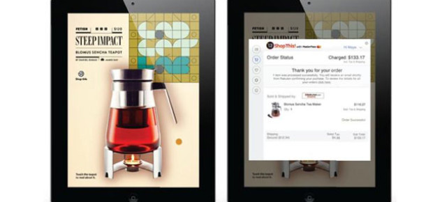 MasterCard'tan Tablet Dergisinden Tek Tıkla Alışveriş Uygulaması: Shop This!