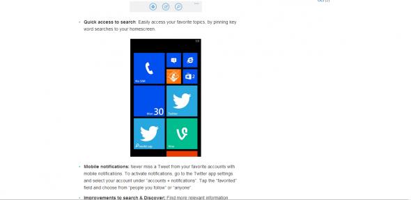Windows Phone Vine