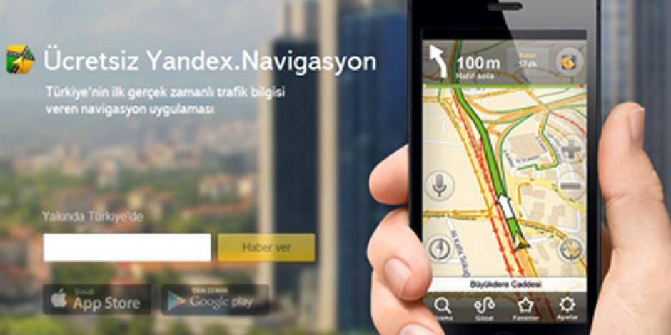 Gerçek Zamanlı Trafik Bilgisi Sunan Yandex.Navigasyon Kullanıma Sunuldu