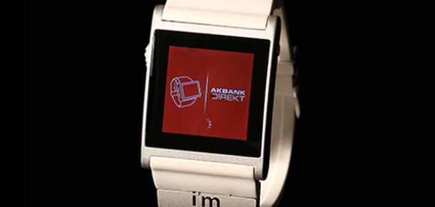Akbank'tan Akıllı Saat i'm Watch İçin Bankacılık Uygulaması
