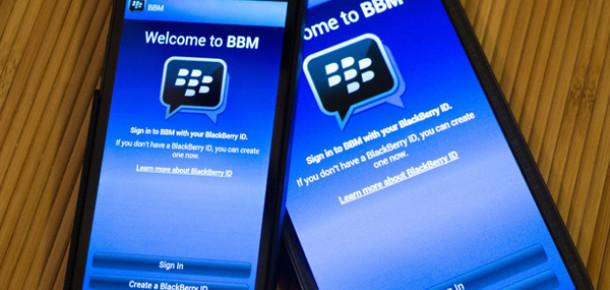 Android ve iOS Versiyonu Yayınlanan BBM'i 8 Saatte 5 Milyon Kişi İndirdi