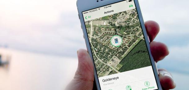 Apple, Find My iPhone Uygulamasının Tasarımını Değiştirdi