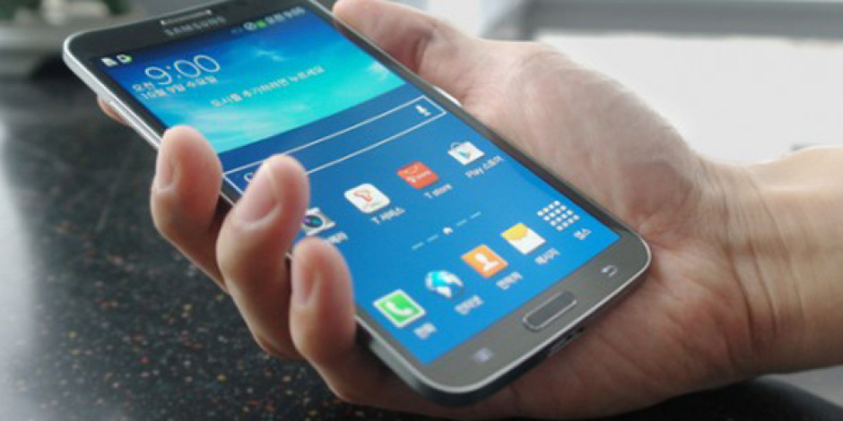 Samsung'un Kavisli Ekrana Sahip Akıllı Telefonu Galaxy Round Tanıtıldı