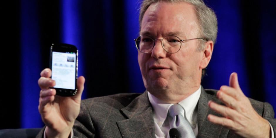 """Google Başkanı Eric Schmidt: """"Android iPhone'dan Daha Güvenilir"""""""