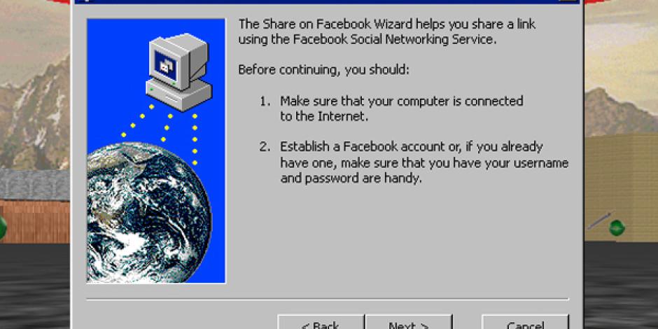 Facebook ve Twitter Windows 95'te Nasıl Çalışırdı?