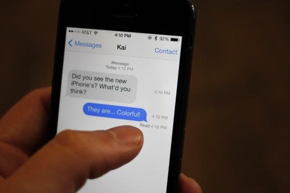 iOS 7 Mesaj Zamanları
