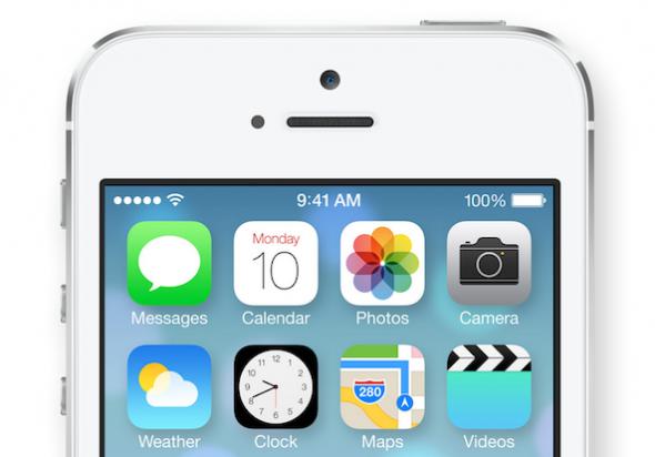 iOS 7 saat