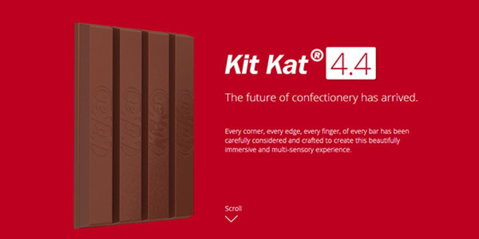 KitKat'ın Android 4.4 Göndermeli Yaratıcı Web Sitesine Awwwards'tan Ödül