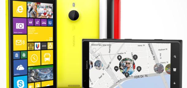 Nokia, 20 MP Kameralı İlk Phablet Modeli Lumia 1520'yi Tanıttı