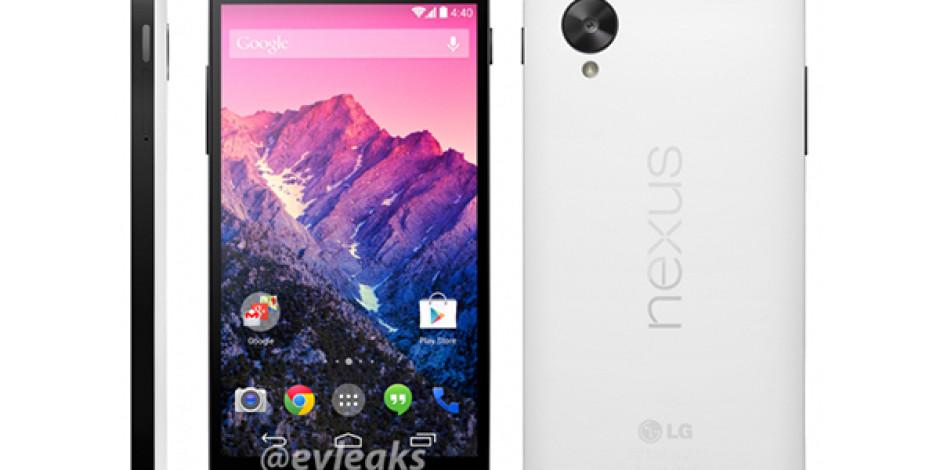 Nexus 5′in Yeni Renk Seçeneği ve Çıkış Tarihi Sızdırıldı