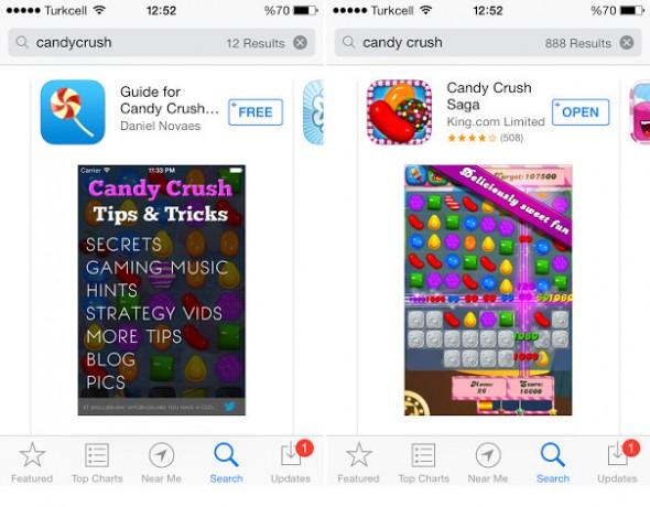 App-Store-Arama-Farklılıkları