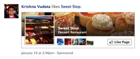 Facebook Sponsorlu Reklamlar
