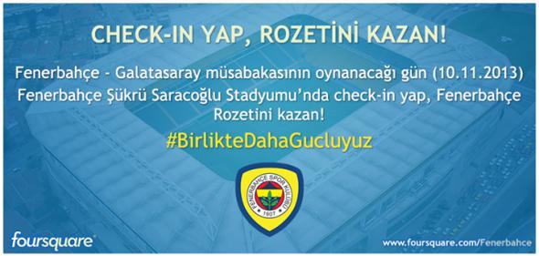 Fenerbahçe Foursquare