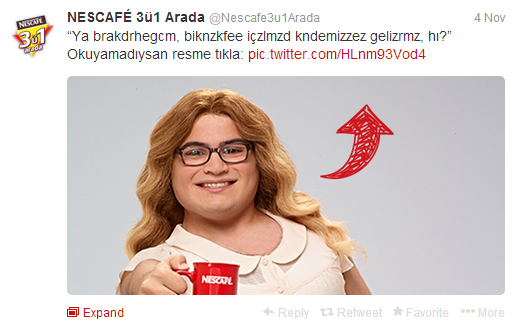 NESCAFÉ 3ü1 Arada Twitter