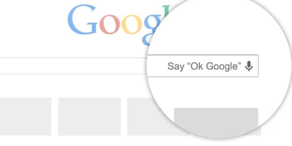"""""""OK Google"""": Sesli Komutlar Artık Google Aramalarında"""