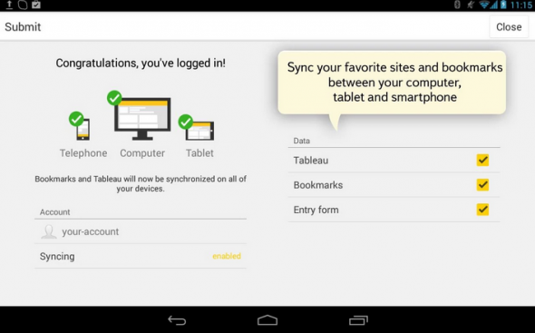 Yandex Browser Android Tablet