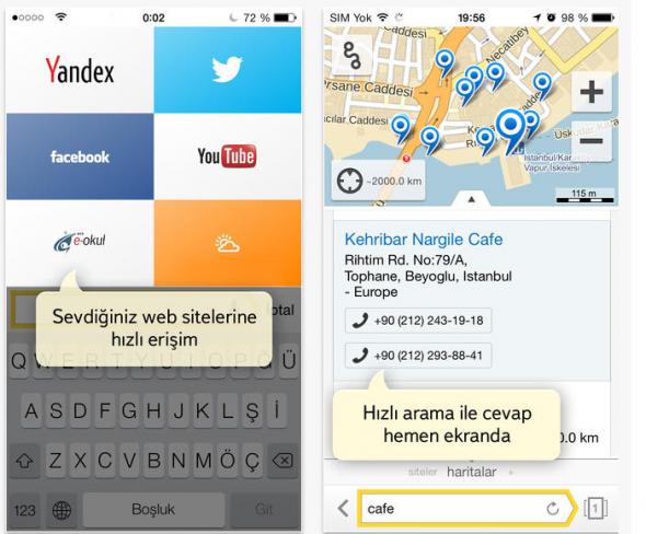 Yandex Browser iPhone