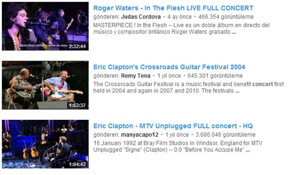 YouTube Uzun Videolar