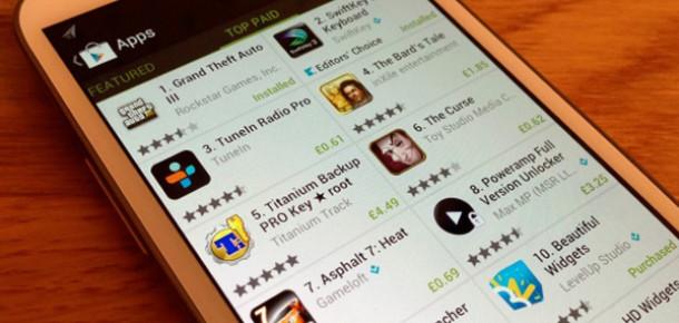 Google Arama Sonuçlarında Artık Android Uygulamaları da Listelenecek