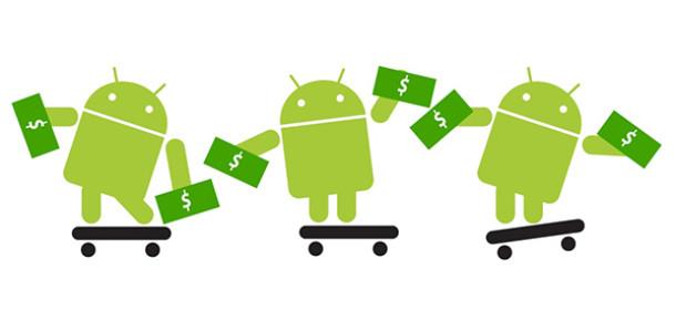 Android'in Mobildeki Hakimiyeti Google Play Gelirlerine Yansıyor